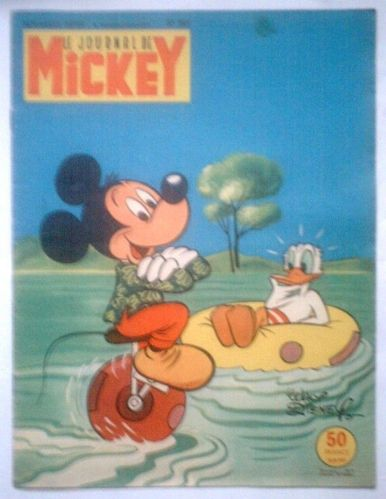 BD Le journal de mickey N°383-1959