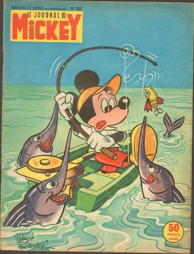 BD Le journal de mickey N°382-1959