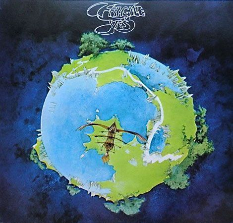 VINYL 33T yes fragile 1971