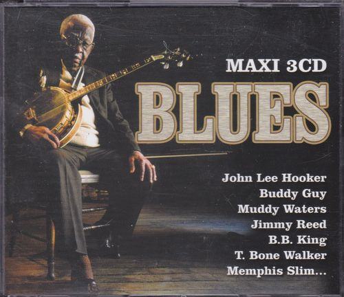 CD maxi 3cd blues 3cd 2004