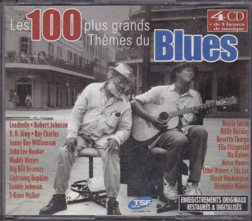 CD les 100 plus grands thémes du  blues 4cd 2001