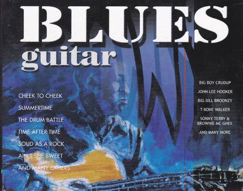 CD blues guitar  3cd 2005