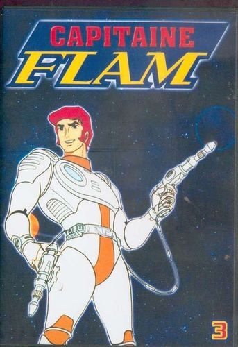 DVD capitaine flam épisode 17-24 Vol 3 1978