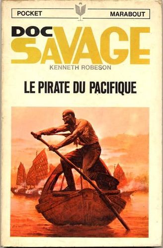 LIVRE doc savage le pirate du pacifique 1970 marabout pocket N°92