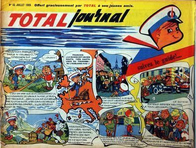 BD total journal N°45 -1965