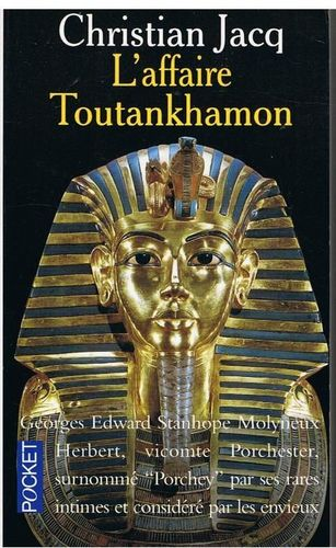 LIVRE christian jacq l'affaire toutankhamon 1994 pocket N°4609