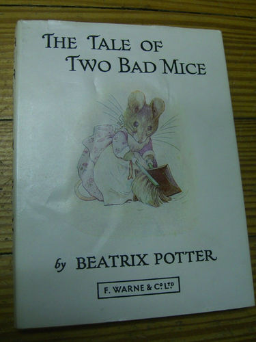 LIVRE Beatrix potter The tale of two bad mice n°5 1973