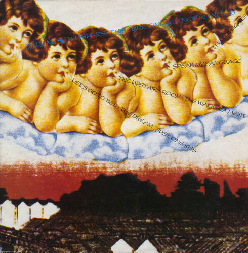 VINYL 33 T the cure japanese whispers 1982