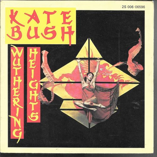 VINYL 45 T kate bush wuthering height 1977