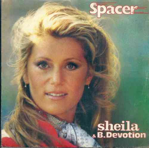 VINYL 45 T sheila b devotion spacer 1979