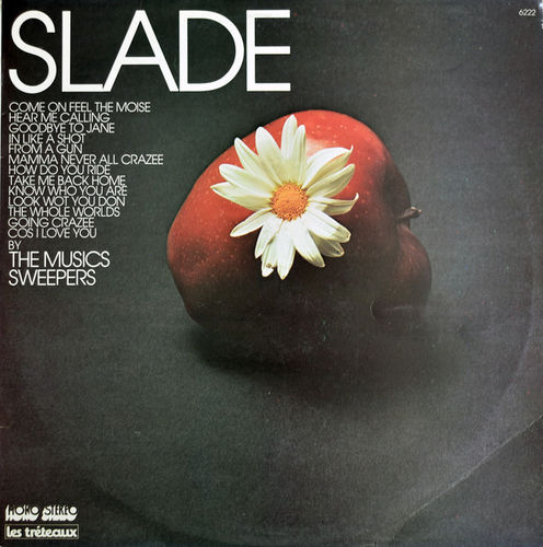 VINYL 33 T slade par the music sweepers