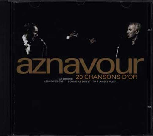 CD Charles aznavour 20 chansons d'or 1997
