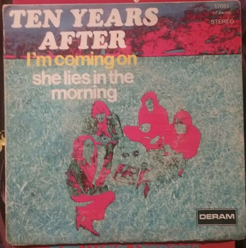 VINYL45T ten years after i'm coming on 1970