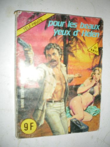 BD tele pirate  N°11 elvifrance 1984